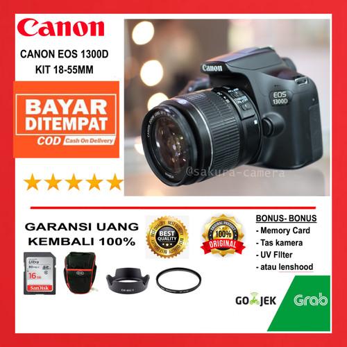 Foto Produk Canon 1300d kit 18-55mm Canon eos 1300d kit 18-55mm dari SAKURA CAMERA