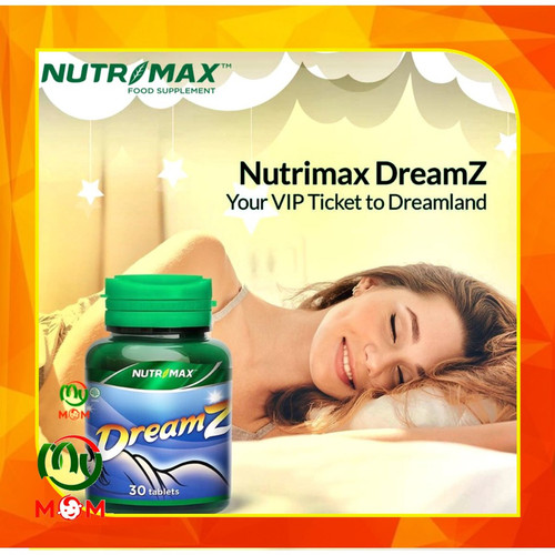 Foto Produk [BPOM] Nutrimax Dreamz 30s / Nutrimax Sweet Dreams / Vitamin Tidur dari mymom