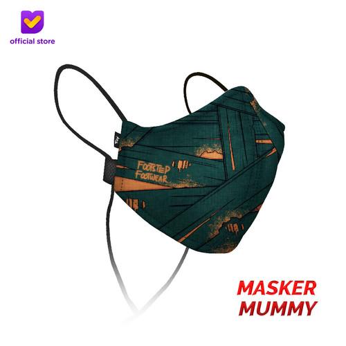 Foto Produk Masker Kain Non Medis Footstep Footwear – Earloop Mask Stylo Mummy dari Footstep Footwear