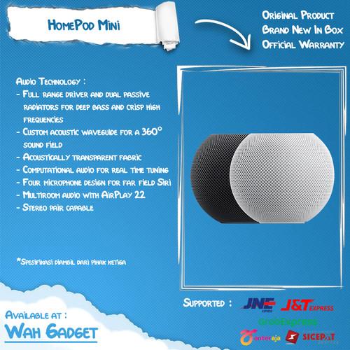 Foto Produk Apple Homepod Mini - Garansi 1 Tahun - Space Gray dari Wah Gadget