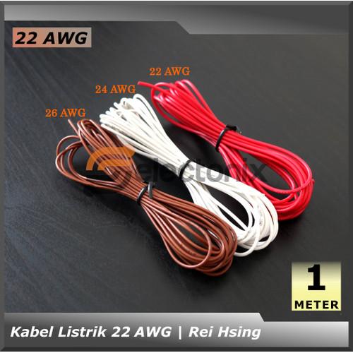 Foto Produk Kabel 22 AWG UL1007 [1 meter] dari Selectonix
