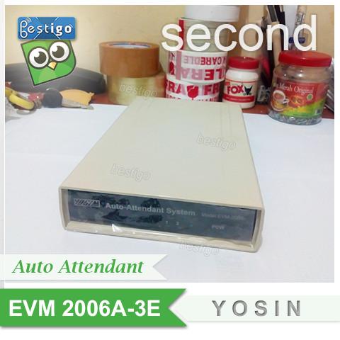 Foto Produk Answering Machine Mesin Penjawab Auto Attendant Telepon YOSIN EVM2006 dari BESTIGO PABX TELEPON