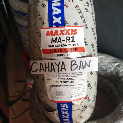 Foto Produk BAN LUAR MOTOR NMAX DEPAN MAXXIS MA-R1 U 120/70-13 dari cahayaa ban