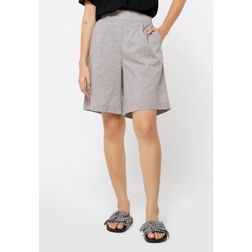 Foto Produk Colorbox Bermuda Shorts I:Brwkey120G029 Grey - Grey, S dari Colorbox Indonesia