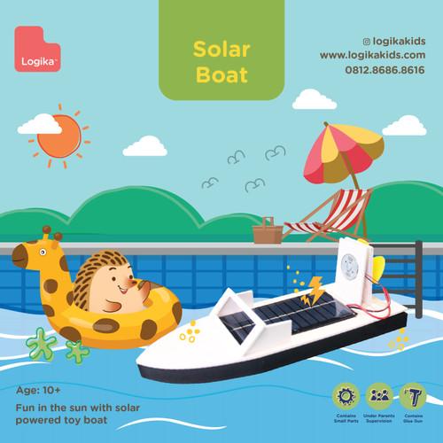 Foto Produk Mainan Edukasi Anak - Solar Boat dari LogikaKids