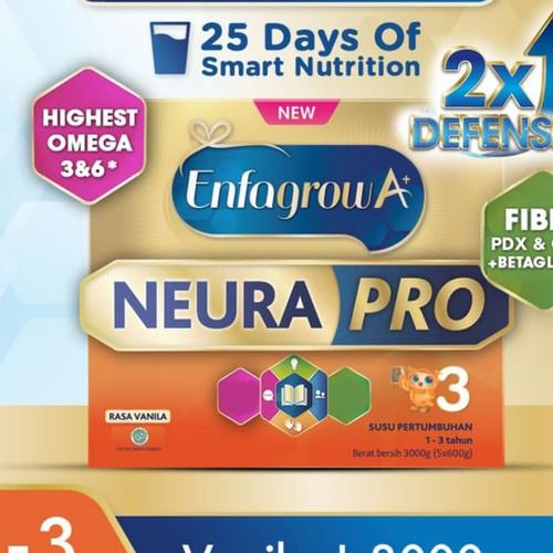 Foto Produk enfagrow 3 3000 gr gram vanilla / enfagrow 3 3000gr vanila dari Small 2 Big Fashion