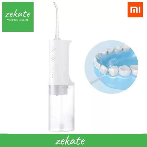 Foto Produk XIAOMI Mijia Smart Electric Oral Irrigator Water Flosser Dental Gigi dari zekate
