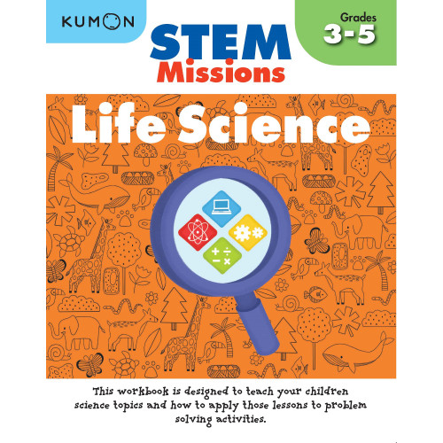 Foto Produk Buku Anak - Kumon - STEM Missions: Life Science dari Kumon Publishing INA