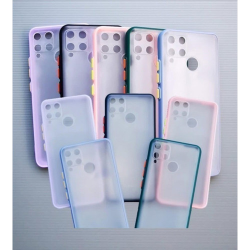 Foto Produk CASE FUZE SLIM FROSTED CLEAR CANDY SAMSUNG A71 TPU EDGES New Hybrid dari KAKA_Shop Official