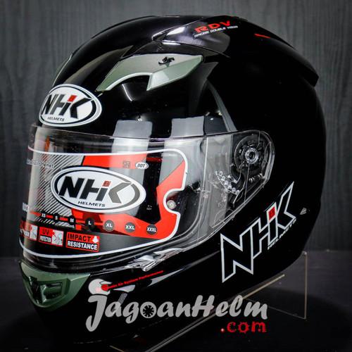 Foto Produk NHK Helm GP1000 SOLID Ringan GP 1000 FullFace dari Jagoan Helm