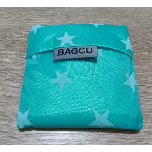 Foto Produk Tas Belanja Lipat Ramah Lingkungan Bahan Nylon / Reusable Shopping Bag - Biru, Blue Dot dari TrendsCenter