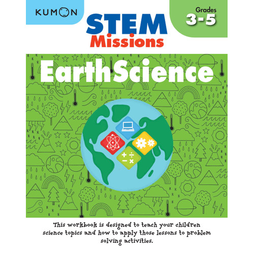 Foto Produk Buku Anak - Kumon - STEM Missions: Earth Science dari Kumon Publishing INA