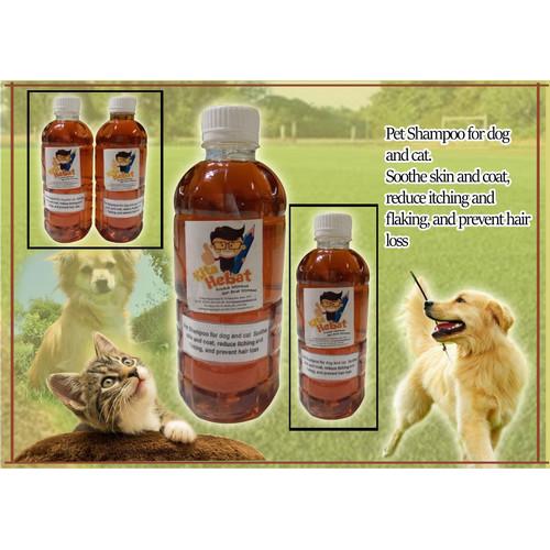 Foto Produk Shampoo For Dog & Cat Anti Kutu dan Anti bulu rontok 500 ml dari Kita Hebat