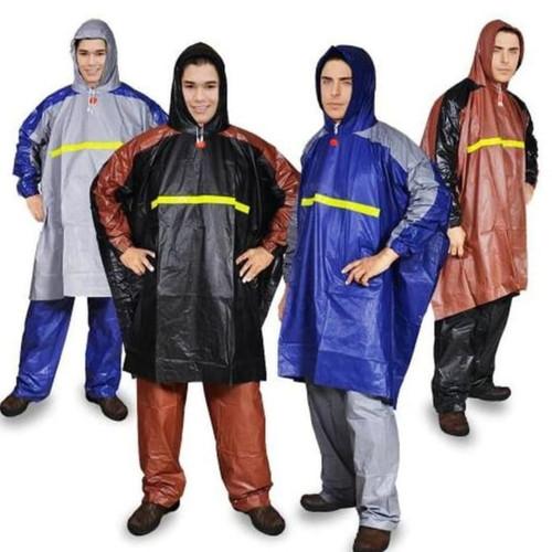 Foto Produk Jas Hujan Poncho Lengan Celana GETZ Rain coat Mantel Hujan dari Tabasa Indonesia