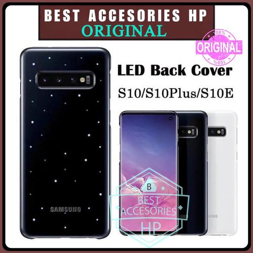 Foto Produk SAMSUNG GALAXY S10 LED BACK COVER HARD CASE ORIGINAL LIGHTNING CASING dari Best accesories hp