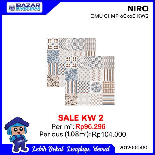 Foto Produk GRANITE GRANIT LANTAI KAMAR MANDI KASAR NIRO GMU01 MUZE HAZEL 60X60 dari Bazar Bangunan