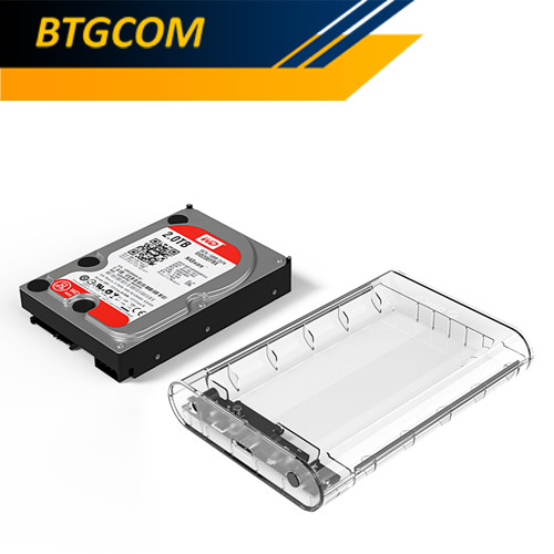 Foto Produk Orico 3139U3 3.5 Inch SATA USB 3.0 Harddisk HDD Enclosure Casing Case dari BTGCOM