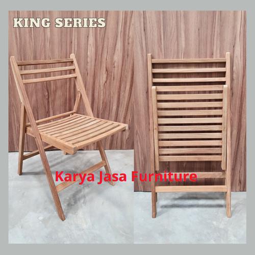 Foto Produk KURSI KAYU LIPAT (KING) dari Karya Jasa Furniture Manufacturer