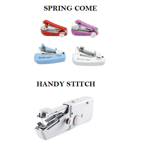 Foto Produk Mesin Jahit Tangan Portable Mini Sewing Spring Come Handy Stitch - SPRING COME dari mofan accesories