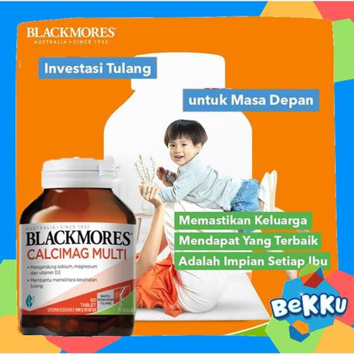 Foto Produk Blackmores Calcimag Multi 60 Tablet KALBE / Vitamin Tulang / beKKu dari tokobekku
