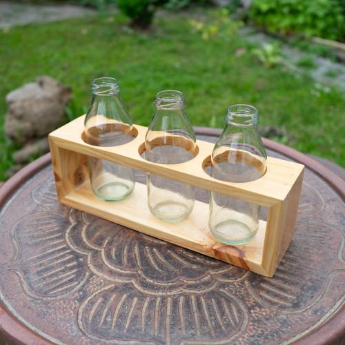 Foto Produk Rak Kayu Tanaman (tanpa botol) dari RainFall by Curah Hujan