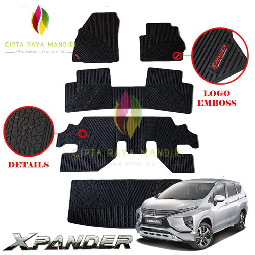 Foto Produk Karpet Mobil MITSUBISHI Xpander Full Set dari Cipta Raya Mandiri