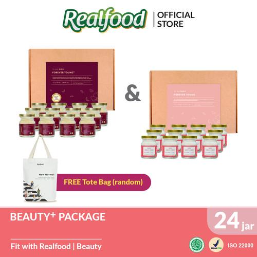 Foto Produk Beauty Package Free Exclusive Tote Bag Realfood dari Realfood