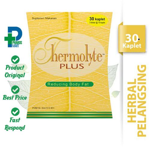 Foto Produk Thermolyte Plus 30 Kaplet - Suplemen Pelangsing dari Pharos Official Store