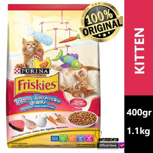 Foto Produk FRISKIES Kitten Discoveries 400gr & 1.1kg, Makanan Anak Kucing - 400gr dari catandcat