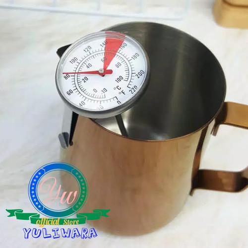 Foto Produk Termometer Kopi Steinless Stell Pengukur Suhu Minuman Dapur Barista dari YULIWARA Olshop