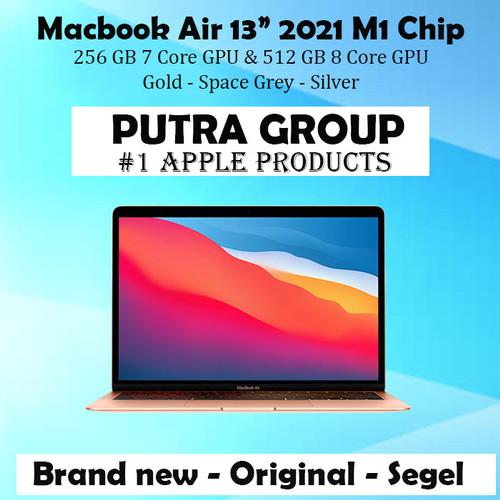 """Jual Macbook Air 2021 13"""" M1 Chip 256GB 512GB Grey Gold ..."""