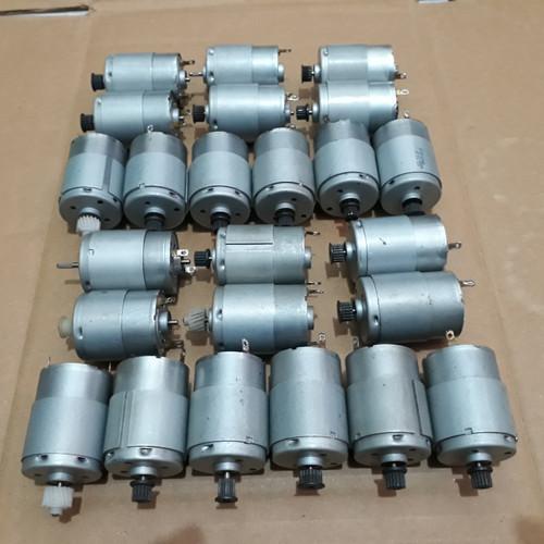 Foto Produk Dinamo Motor Serbaguna 12V DC (ex printer) dari Semoga Lancar Berkah