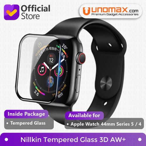 Foto Produk Nillkin Tempered Glass 3D AW+ Apple Watch 44mm Series 5 / 4 - Hitam dari unomax