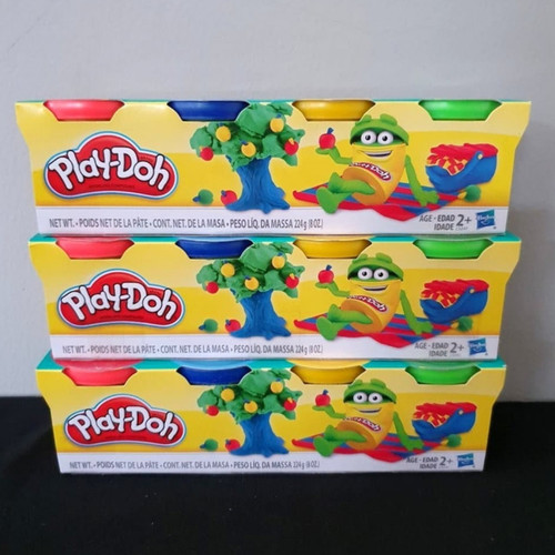 Foto Produk Lilin play-doh playdoh original Hasbro isi 4 cup dari Bolaemon Online Store