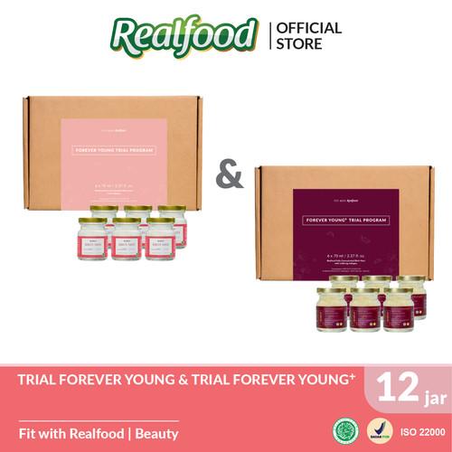 Foto Produk Realfood Bundle Trial Forever Young Plus dan Forever Young dari Realfood