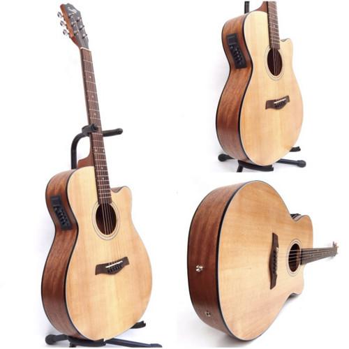 Foto Produk Gitar akustik elektrik COWBOY GWC 235 NA NS ORIGINAL EQUALIZER dari Blaze Music