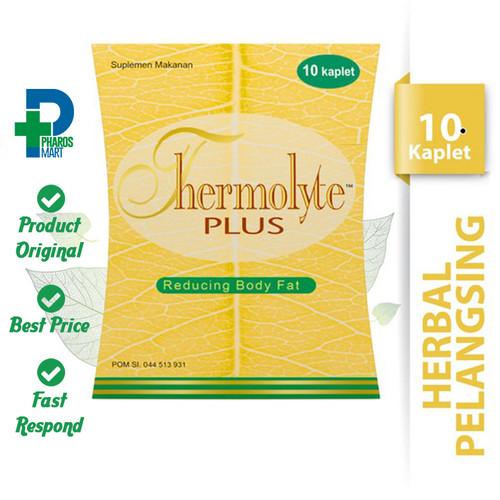 Foto Produk Thermolyte Plus 10 Kaplet - Suplemen Pelangsing dari Pharos Official Store