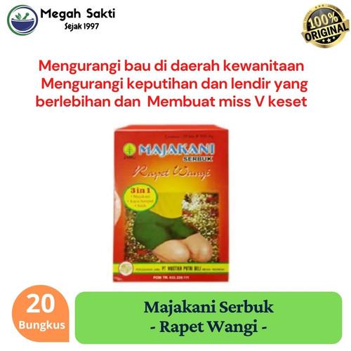 Foto Produk Jamu Herbal Majakani Rapet Wangi Serbuk Original dari Megah Sakti