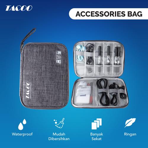 Foto Produk TACOO Gadget Organizer Tas Travel Elektronik Waterproof Multifungsi dari TACOO Official Store