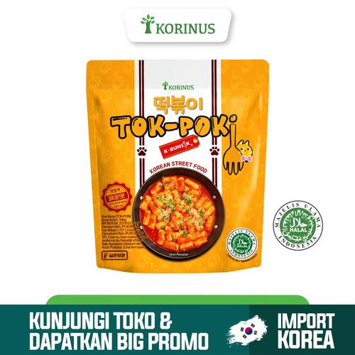 Foto Produk K - Bunsik Tokpoki / Tteokbokki / Toppoki / Tok-Poki Instan Halal MUI dari KORINUS