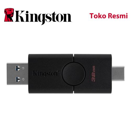 Foto Produk Kingston Flash Drive DataTraveler Duo OTG 32GB USB3.2 dari Kingston Official Store