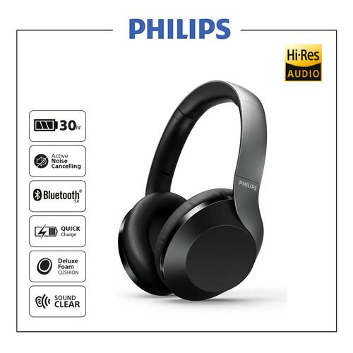 Foto Produk Philips TAPH805NC Black Noise Canceling Bluetooth Headphones/ TAPH 805 dari Philips Audio Official