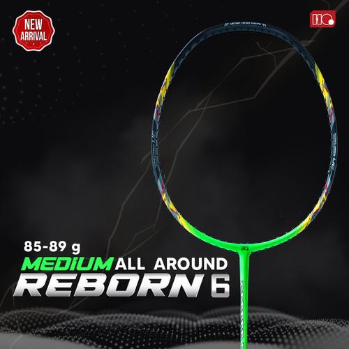 Foto Produk Hi-Qua Reborn Raket Bulutangkis Badminton All Around up 32Lbs - Hijau dari Hi-Qua Original Shop