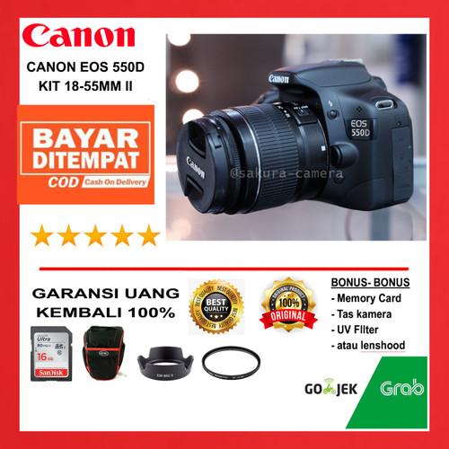 Foto Produk Canon 550d kit 18-55mm Kamera Canon eos 550d kit 18-55mm dari SAKURA CAMERA