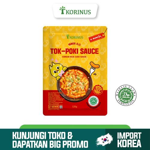 Foto Produk Korinus Tokpoki Sauce / Tteokbokki Sauce / Toppoki Sauce Halal MUI dari KORINUS