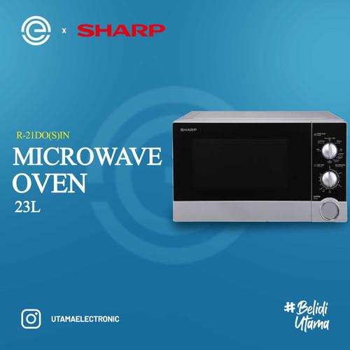 Foto Produk SHARP Straight Microwave Oven 23 Liter - R-21D0(S)IN dari UTAMA_ELECTRONIC