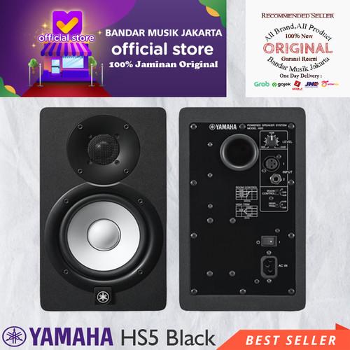 Foto Produk Yamaha HS5 Powered Studio Monitor dari Bandar Musik Jakarta BMJ