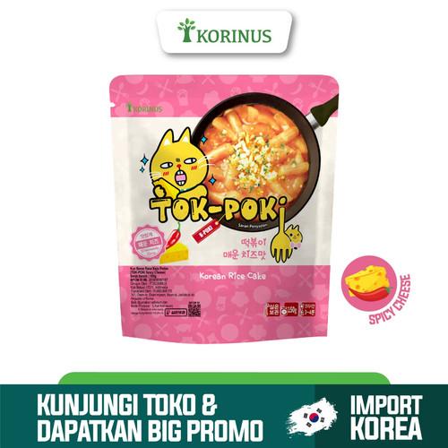 Foto Produk Korinus K - Bunsik Tokpoki SPICY CHEESE / Tteokbokki / Tok-Poki Instan dari KORINUS