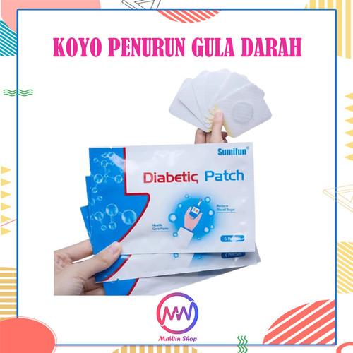Foto Produk Diabetic Patch Koyo Diabetes Penurun Gula Darah dari Mawin Shop