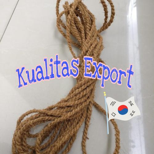 Foto Produk Tali Sabut Serabut Kelapa CocoFiber kecil diameter 6mm panjang 100 mtr dari Nuts For Coconuts